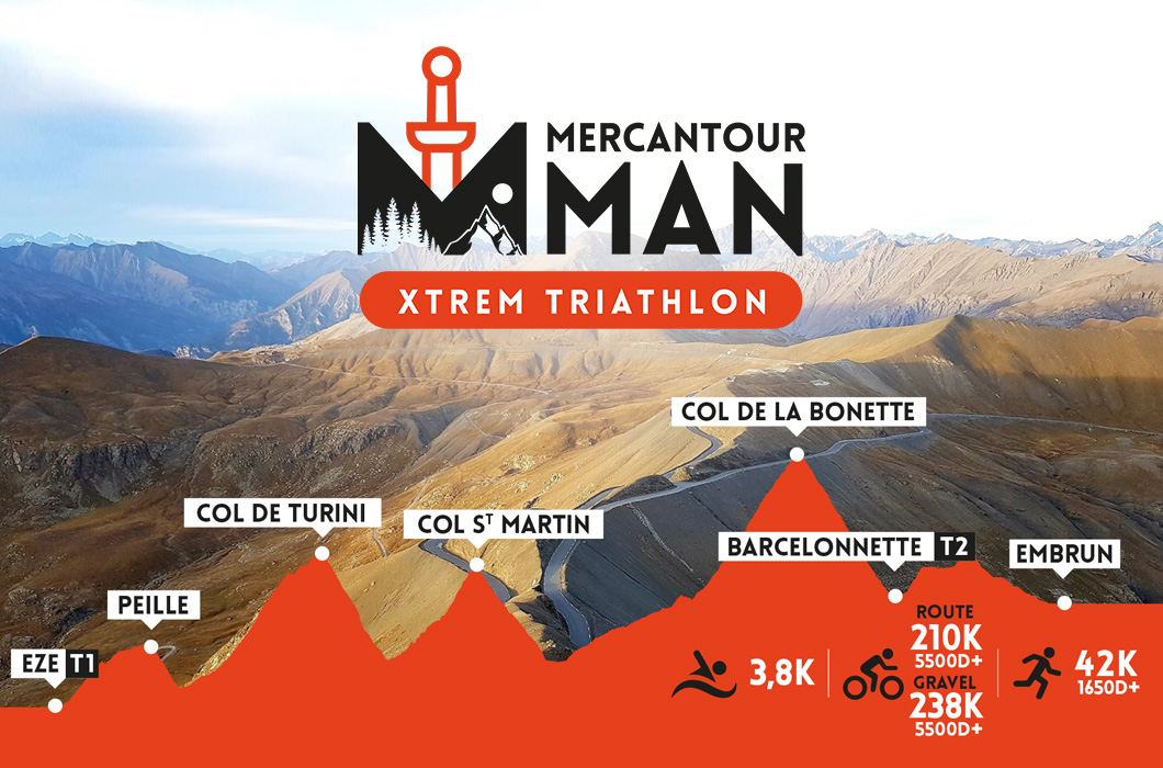 Mercantour Man Xtrem Triathlon